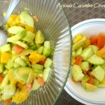 Avocado Cucumber and Orange Salad