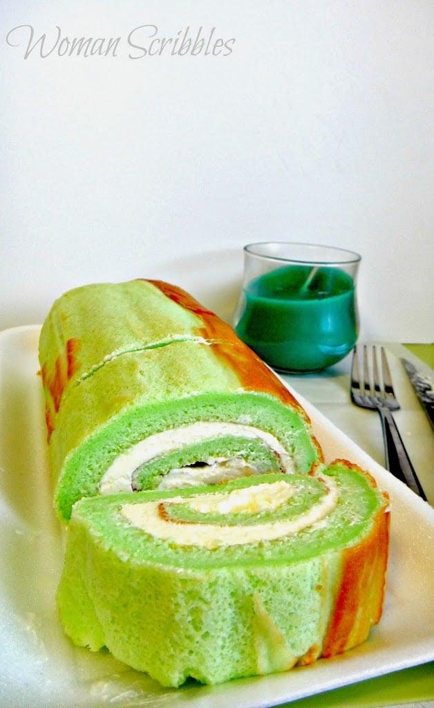 Pandan Chiffon Cake Recipe Youtube