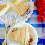 Chiffon Cake with Mocha Glaze