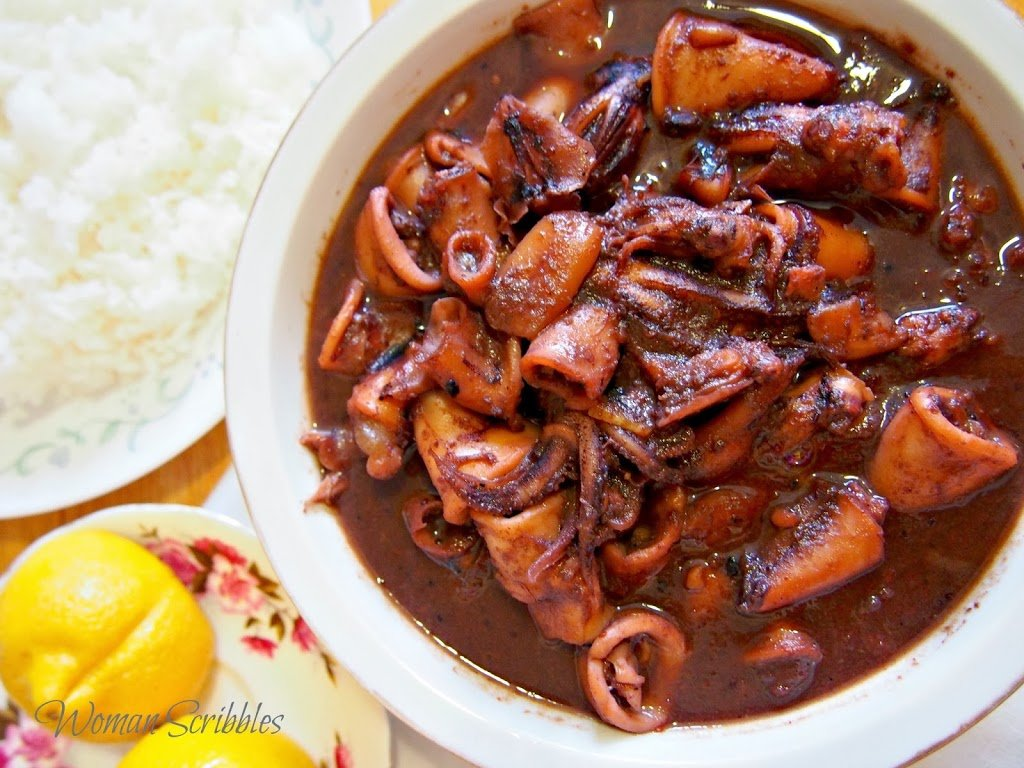 This sweet and spicy squid is a delicious way to serve pusit aside from the usual adobo style.