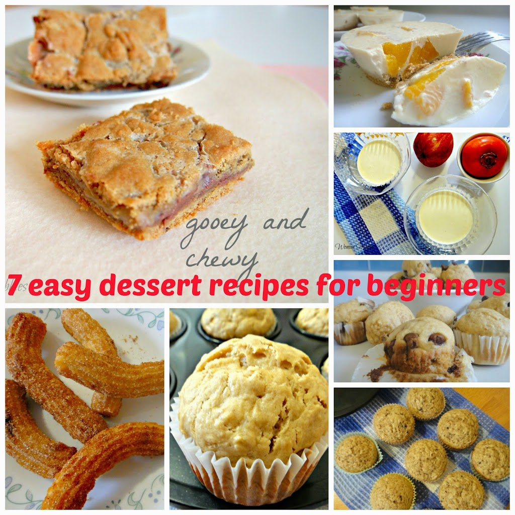 7 easy dessert recipes for beginners woman scribbles forumfinder Images
