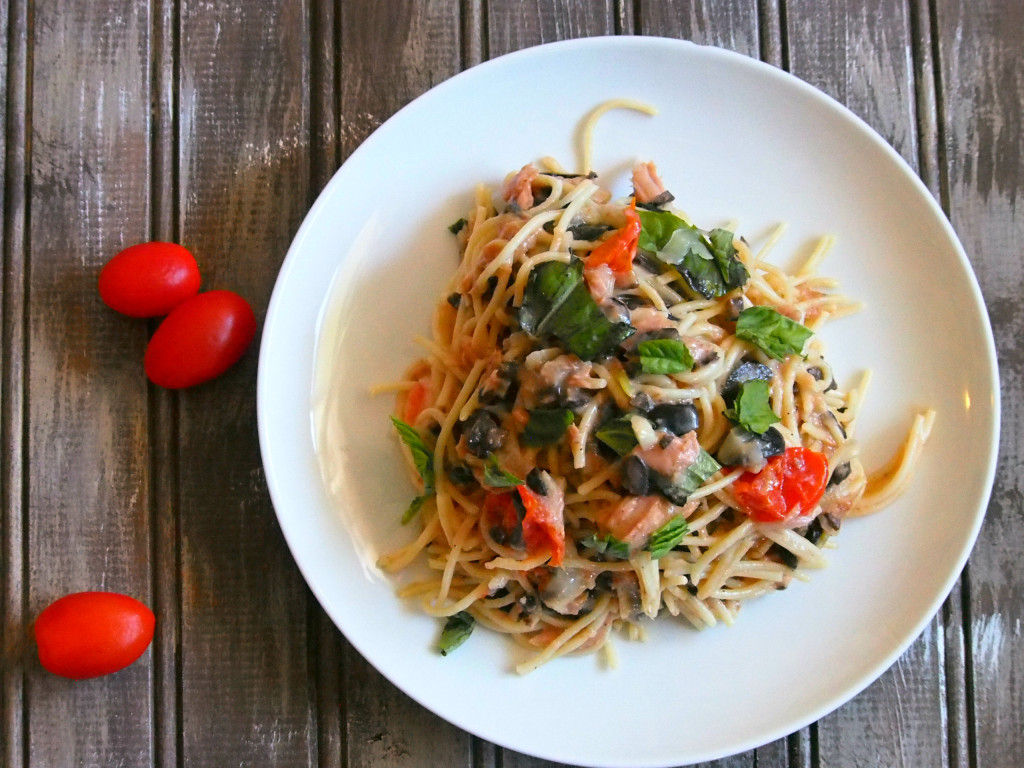 Serve this Tuna Pasta for a light, meat-free dish that is packed with flavor and texture. It is a simple and tasty dish that is ready in no time.