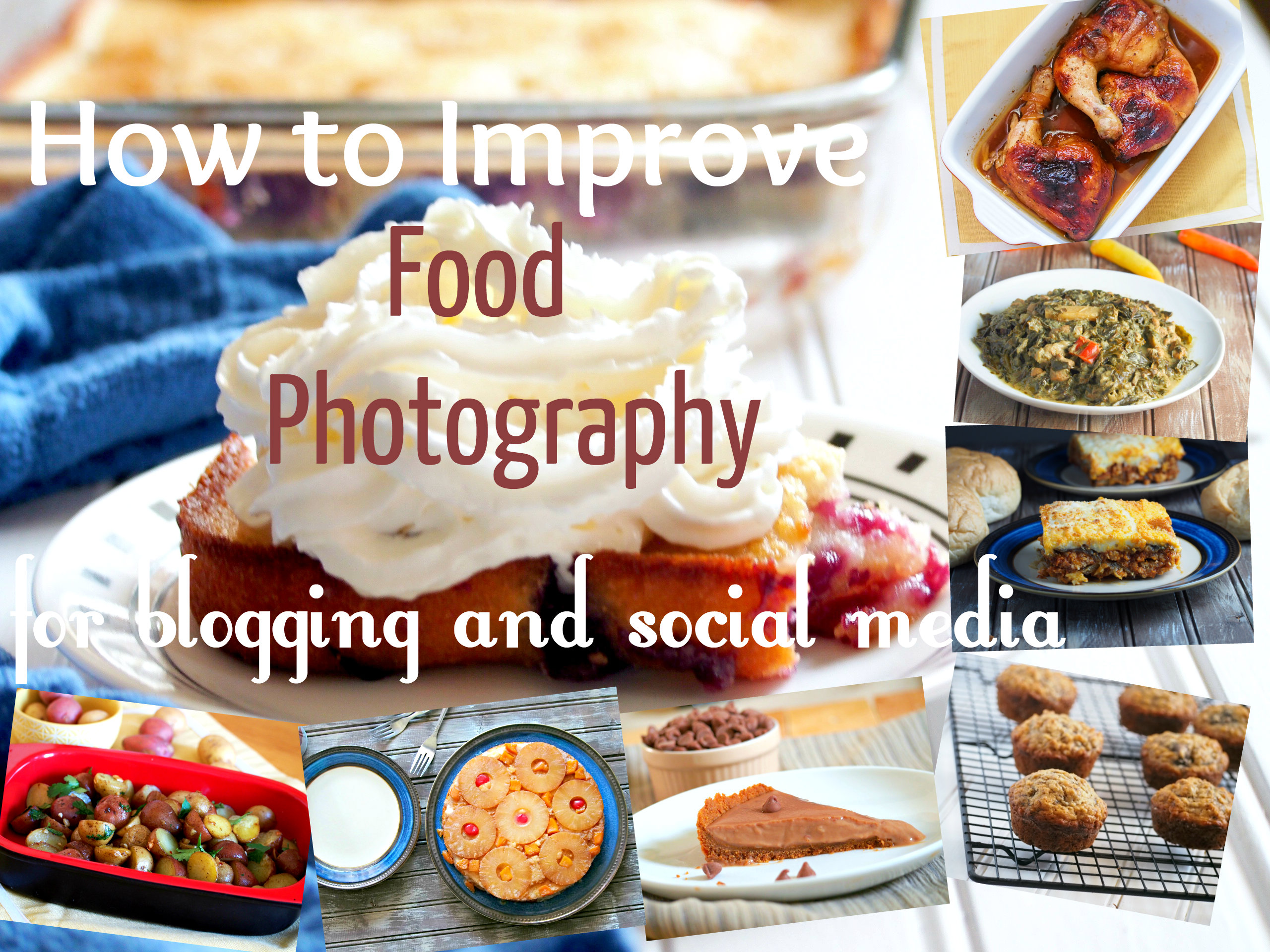 how to improve food photography