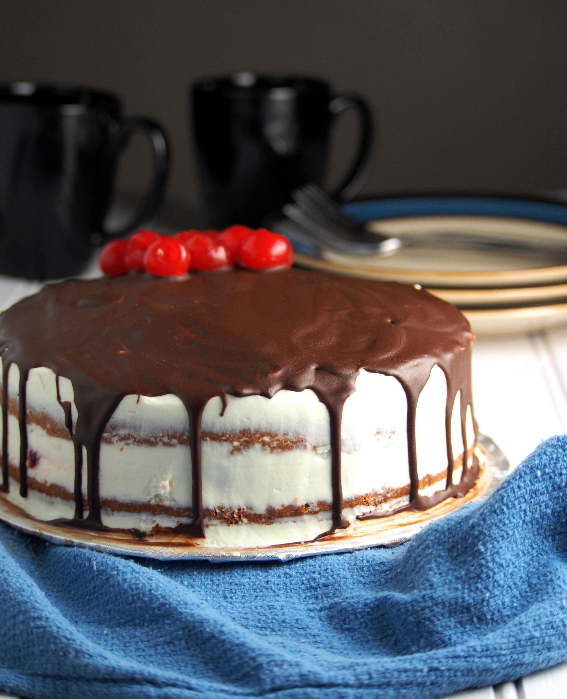 white chocolate cherry cake recipe