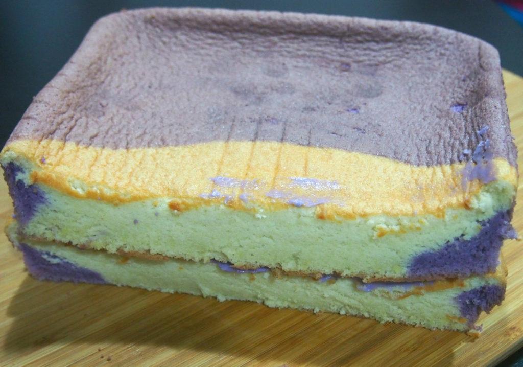 ube vanilla chiffon cake instructions