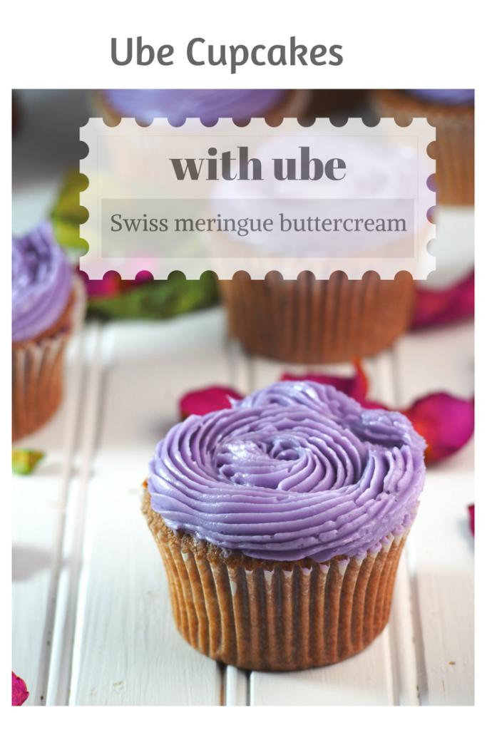 ube cupcakes