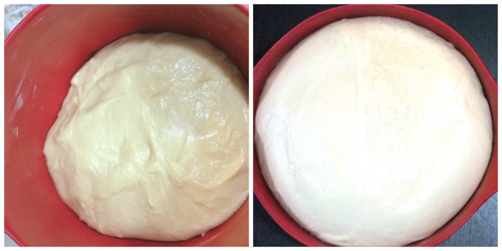 ensaymada dough rising