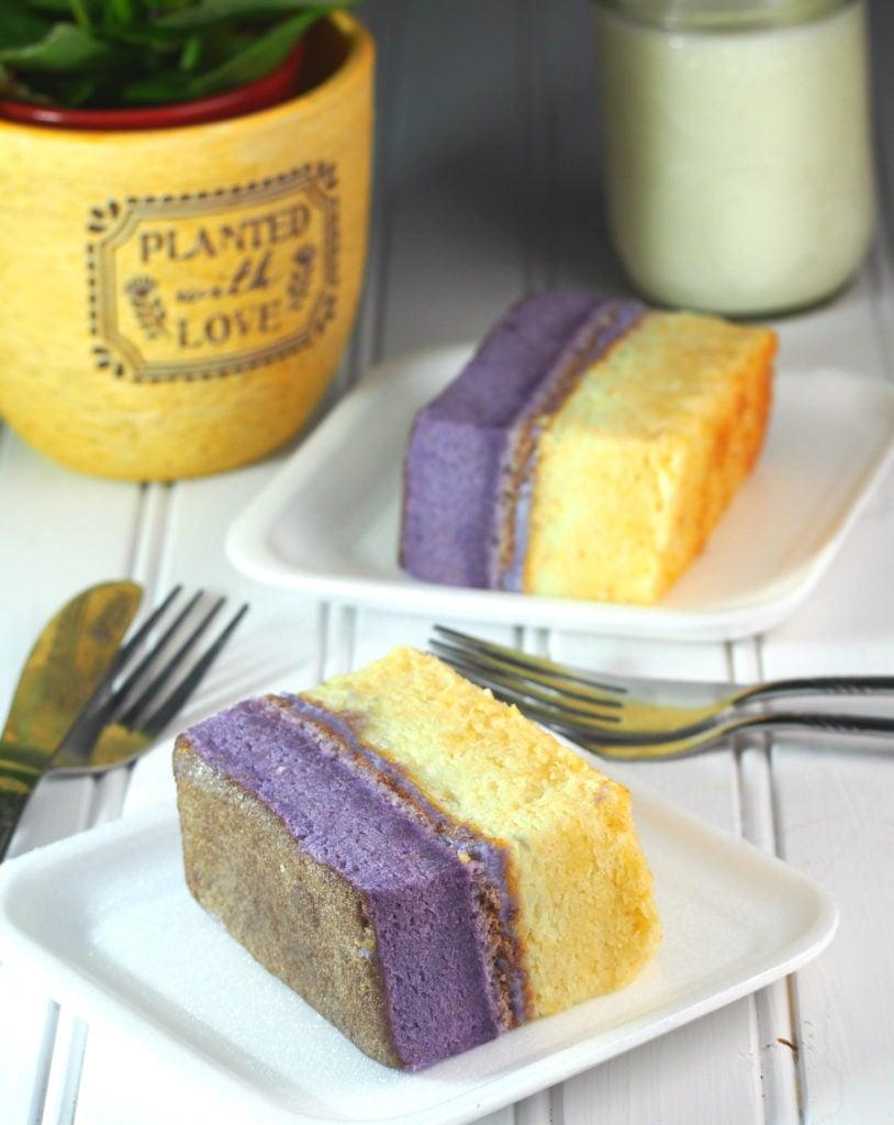 Ube Mamon Cake Recipe
