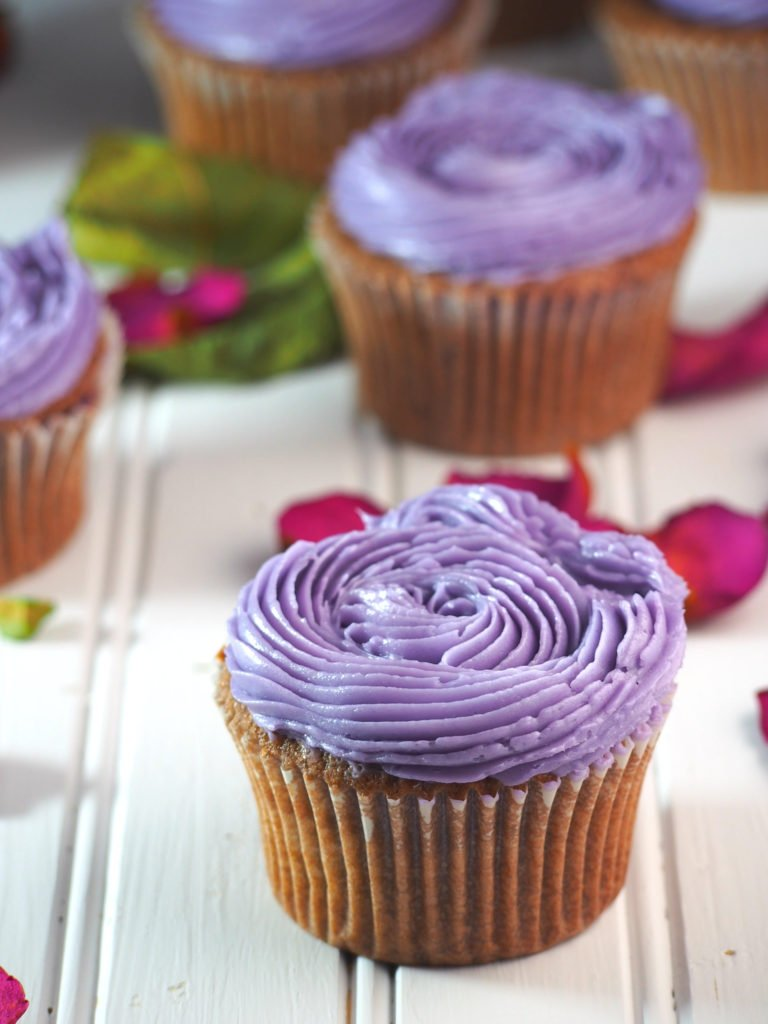 recipe for ube cupcakes
