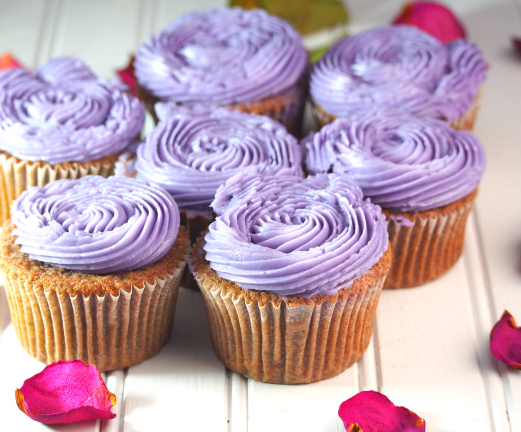 how to make ube cupcakes