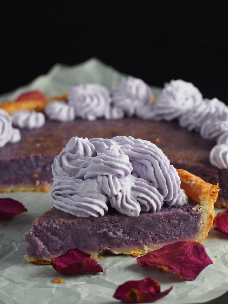 Ube pie is a great addition to all your purple yam desserts this Holidays!
