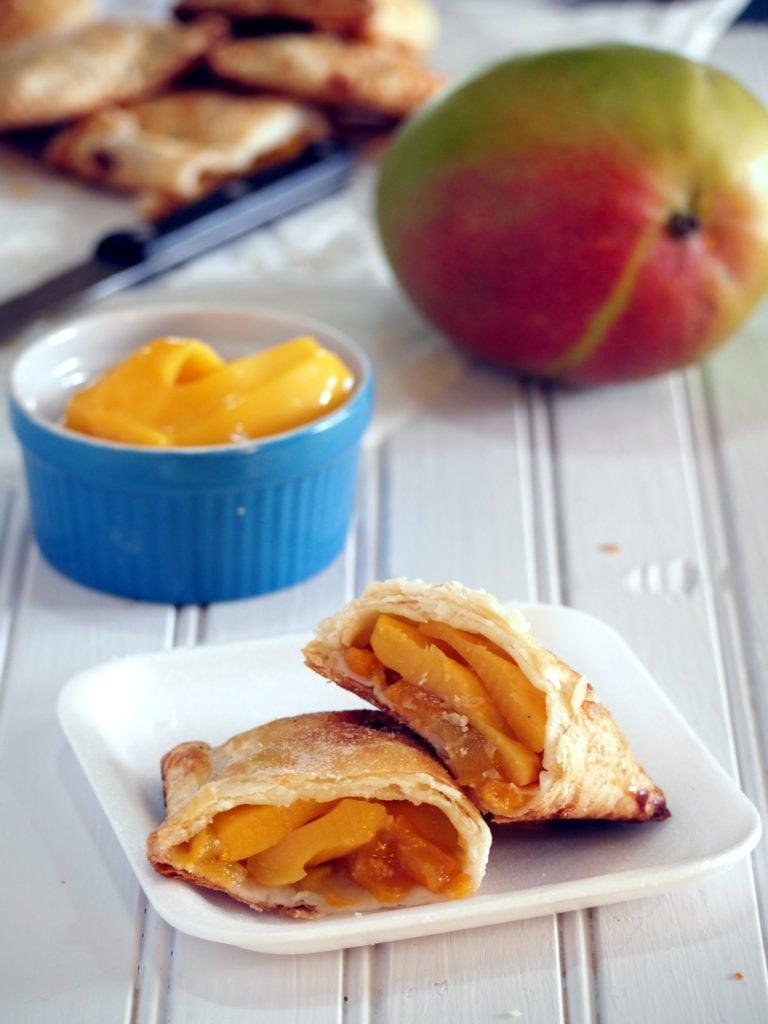 peach mango pies