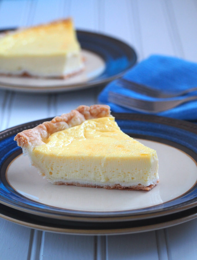 easy egg pie