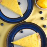 This delectable mango mousse tart is made of a creamy and fruity mango mousse that is nestled in a crisp and buttery tart crust.