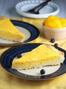 Mango Mousse Tart Recipe