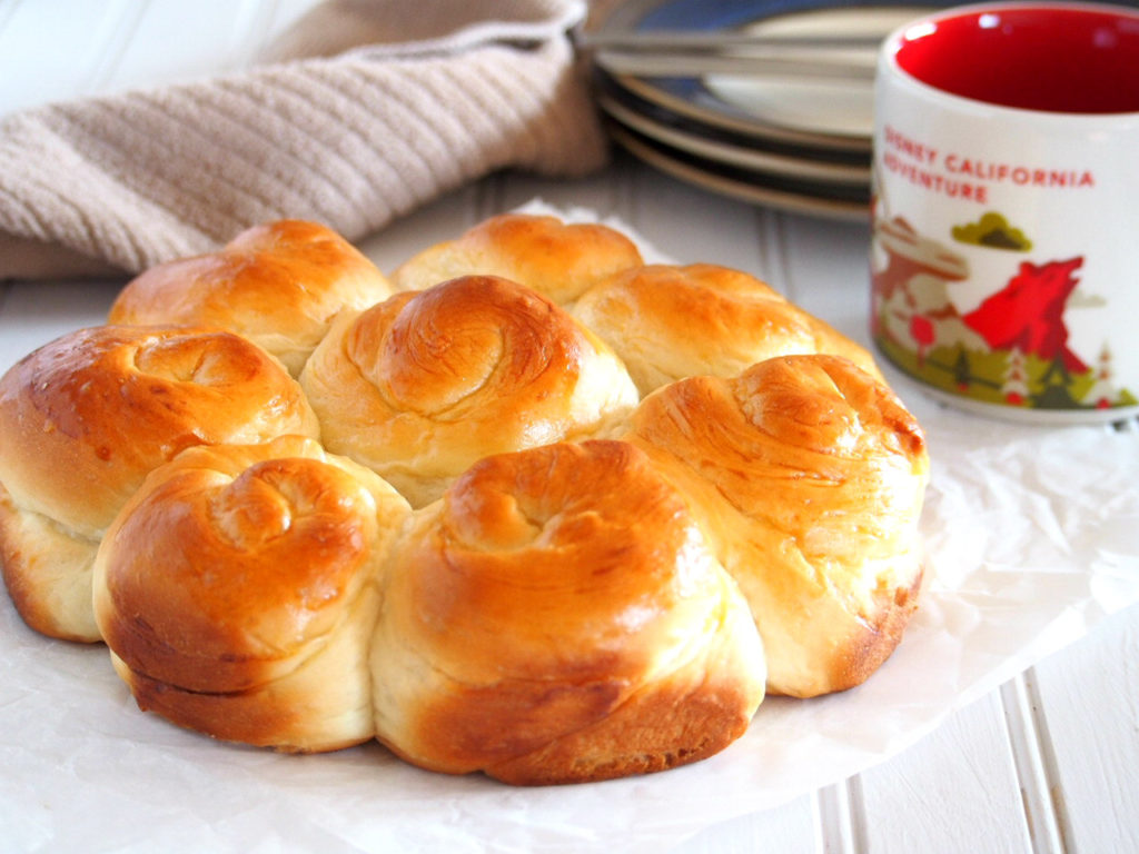 These Milk Bread are slightly sweet,very soft and fluffy rolls that are perfect on their own but also great with any spread.