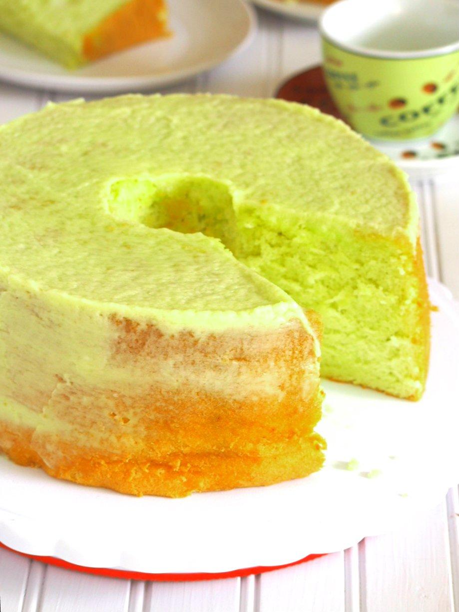 Pandan Chiffon Cake Recipe With Pandan Essence