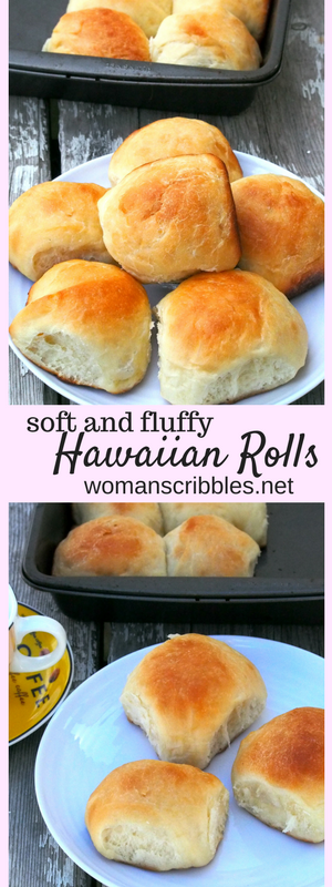 These Hawaiian rolls are soft buns with a note of sweetness from the pineapple juice. These makes perfect ham and cheese sliders but are also great to be eaten on their own.