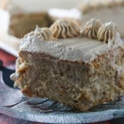Mocha Cake with Swiss Meringue Buttercream