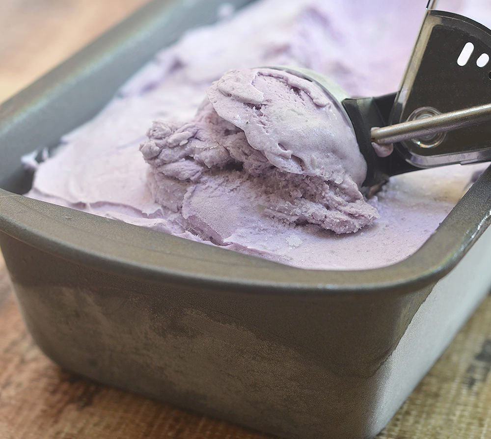 Ube ice cream is one of the rich Ube desserts that is creamy, earthy and delightful.