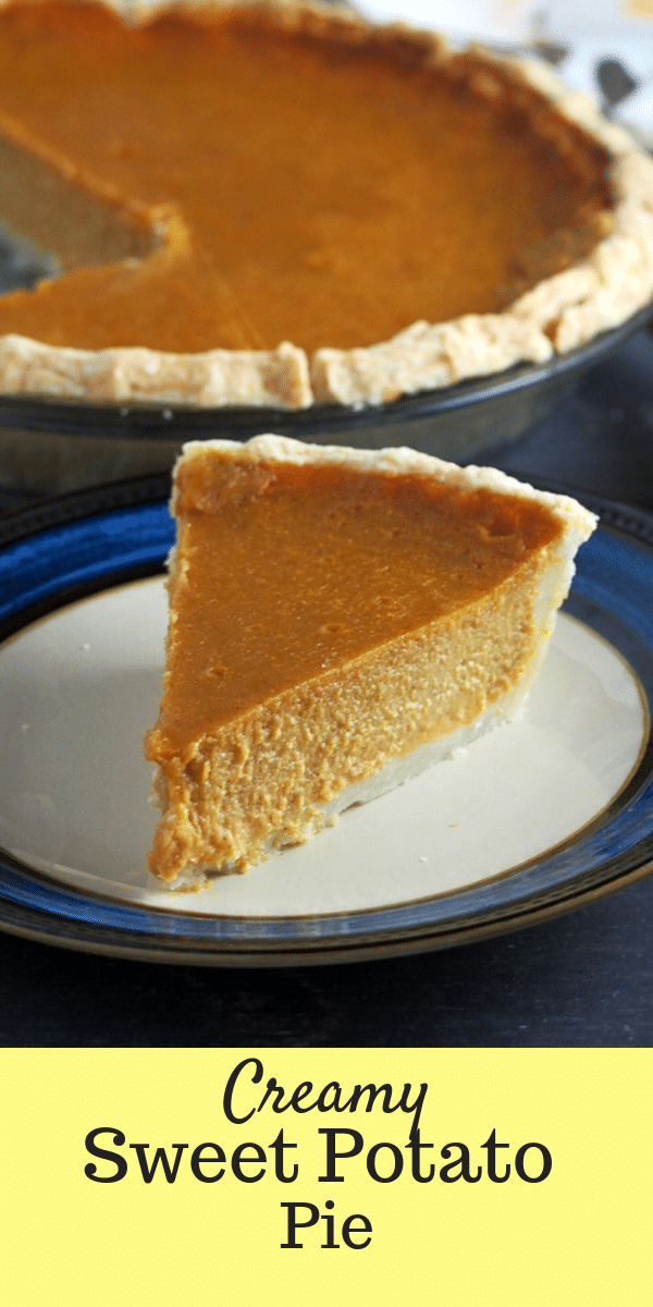This simple and creamy sweet potato pie is so enjoyable. Mildly sweet and lightly spiced, it is your perfect dessert for the Holidays. # Sweetpotatorecipes #ThanksgivingPie #Thanksgivingrecipes #pies #tarts