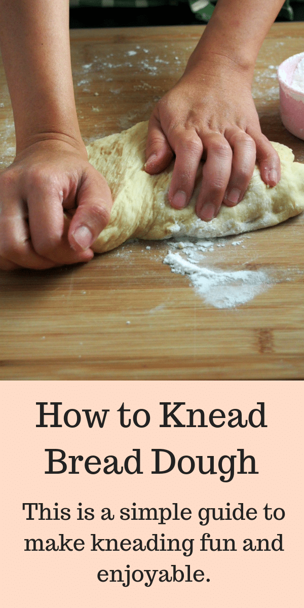 A simple guide to kneading bread dough. Kneading does not need to be intimidating as it a fun and therapeutic process. This guide is what you need to make your bread making journey fun! #kneading #dough #breadbaking