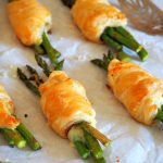 Asparagus and Ham Puff Pastry Pockets