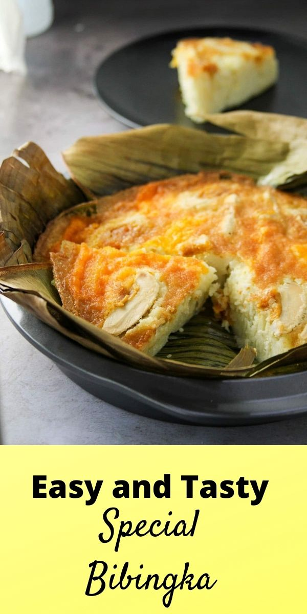 Easy and soft bibingka done the easy way.