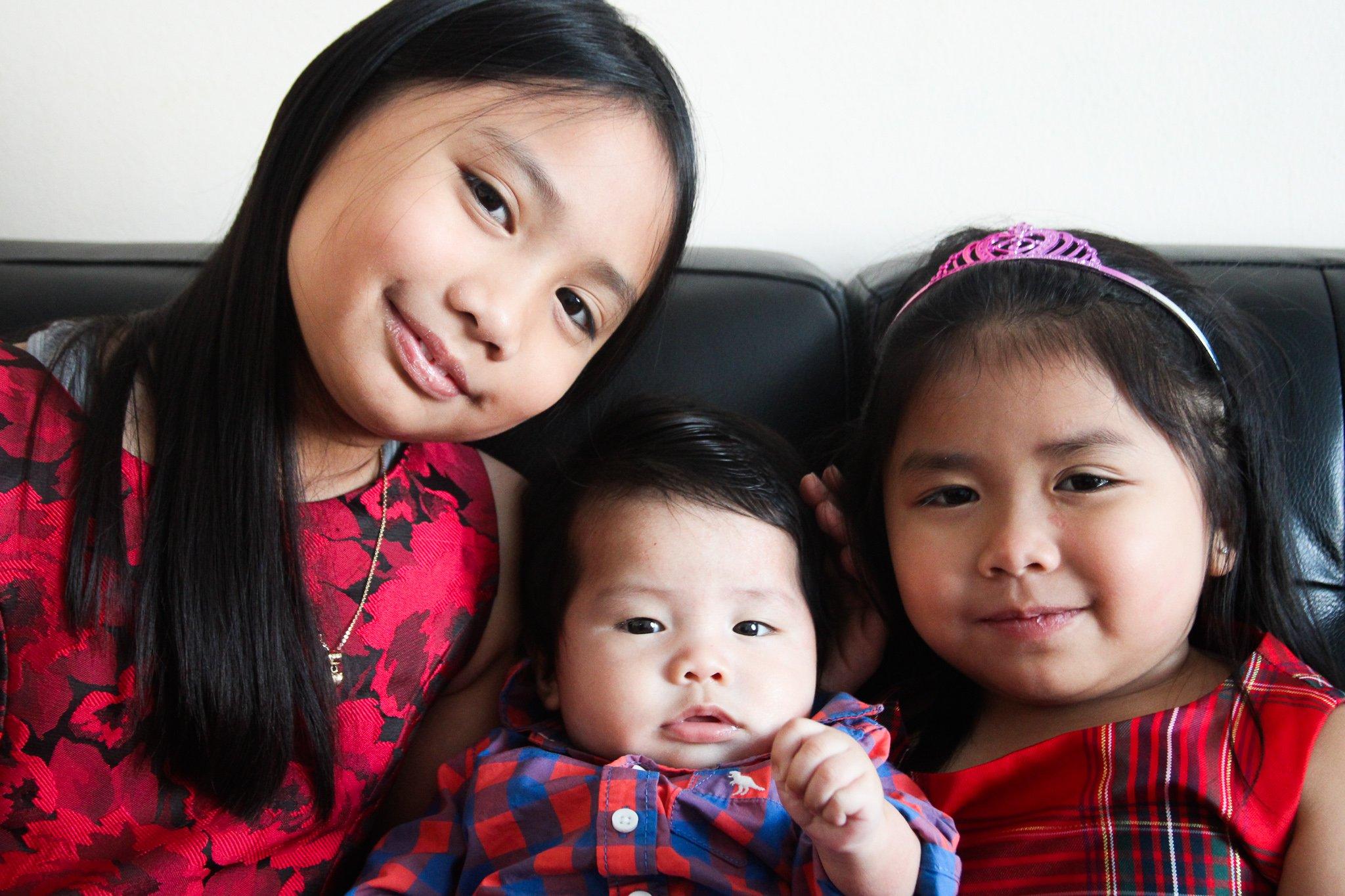 My three kids photo