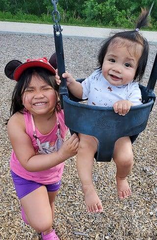 kids on a park